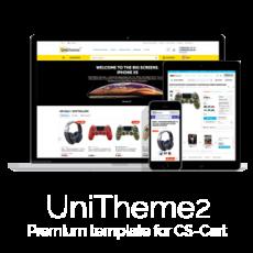CS-Cart шаблон UniTheme