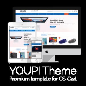 CS-Cart YOUPITheme Template