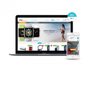 Multi-Vendor Template VIVAshop